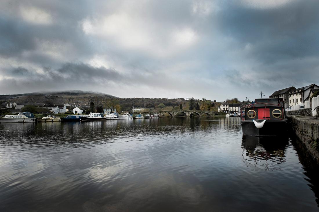 River Barrow at Graiguenamanagh, Co Carlow.
