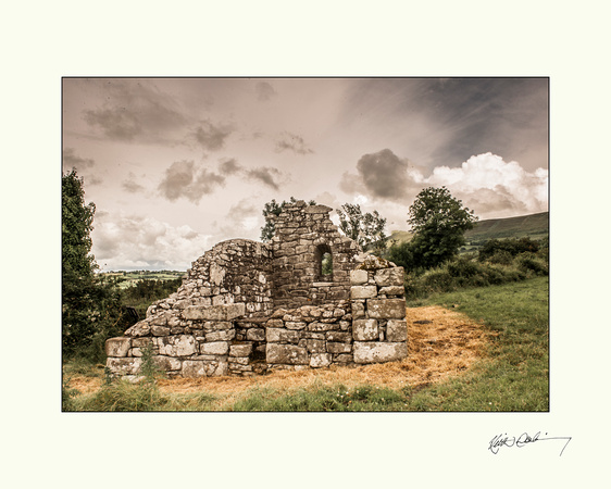 Kiloughterane Ancient site near Garryhill.  20x16  OR  10x8
