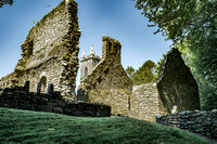St Moling Monastic Site at St Mullins, Co Carlow.