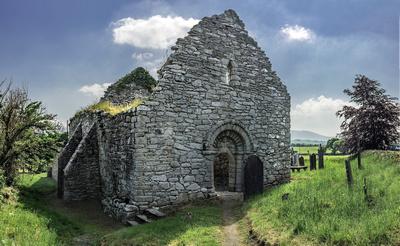 Ullard Church and Ancient site near Graiguenamanagh Co Carlow.