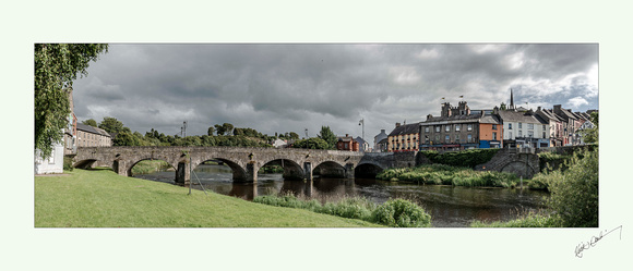 River Slaney at Enniscorthy in Wexford.