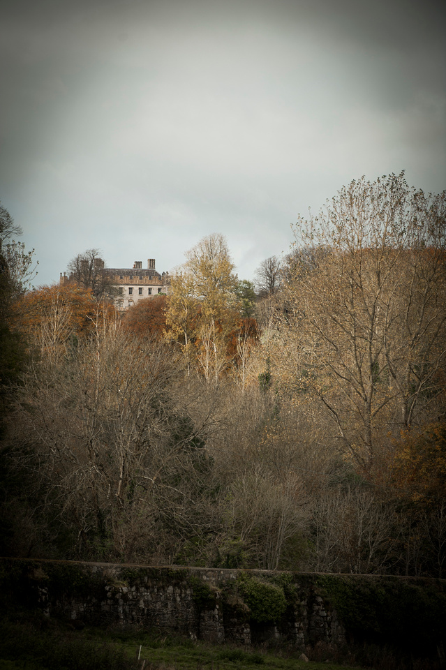 Borris House overlooking Borris.