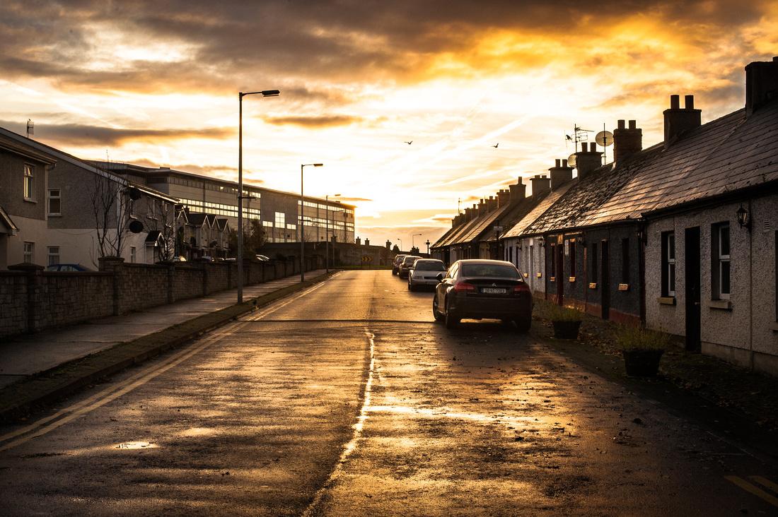 Sunrise on Little Barrack Street